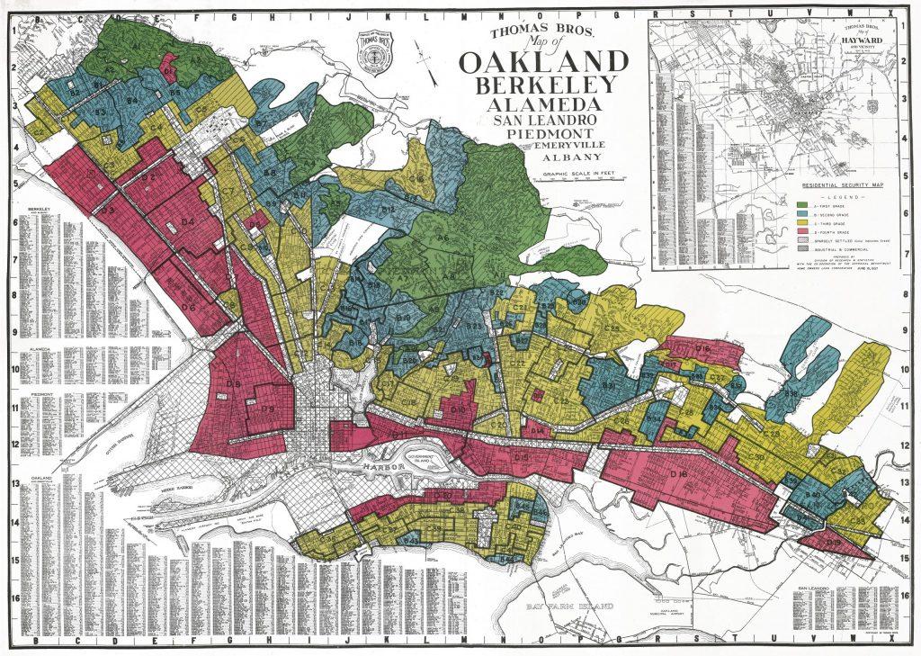 12E.3.6 HOLC Map of Oakland